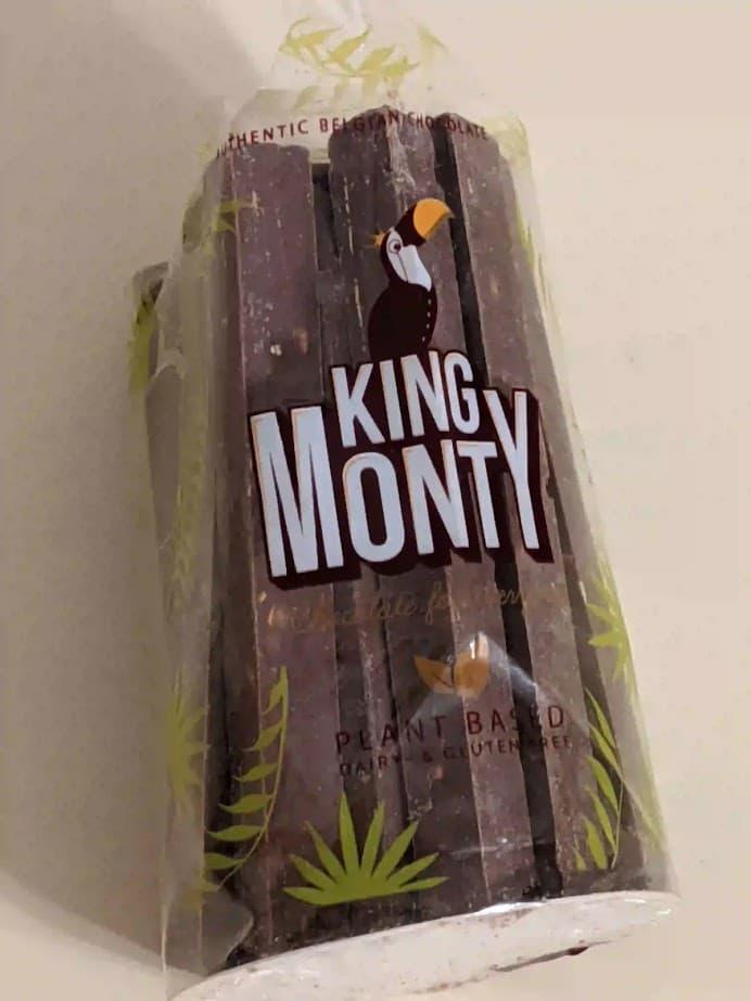 キングモンティ ライスミルクチョコスティック ヘーゼルナッツクランチ
