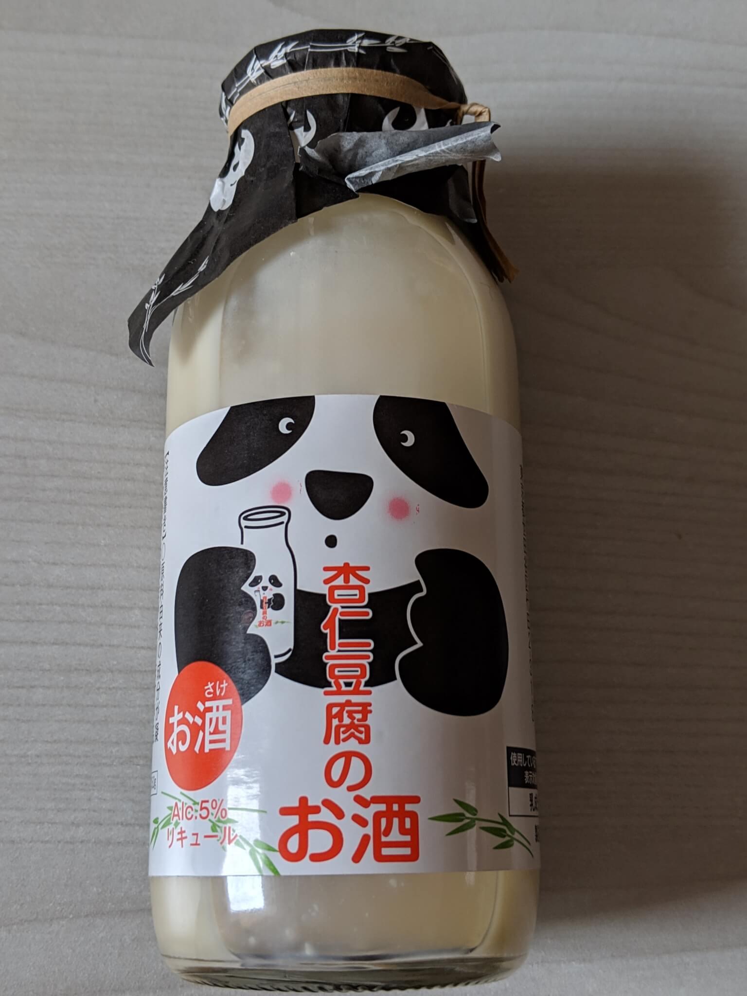 カルディの杏仁豆腐のお酒