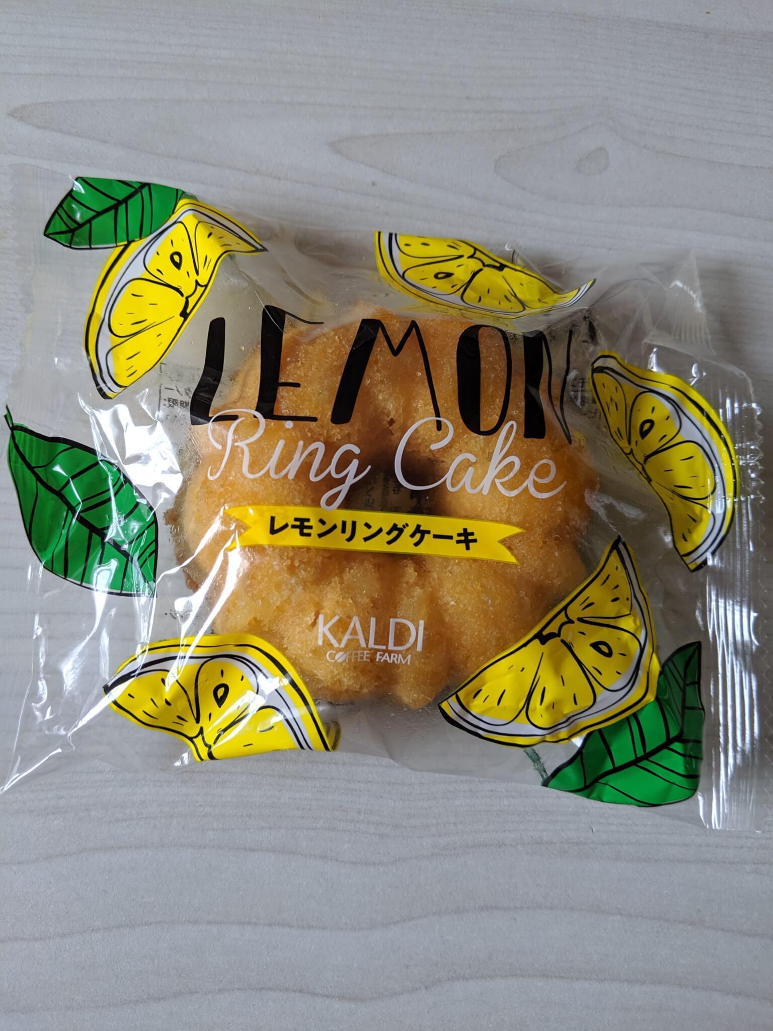 カルディのレモンケーキ