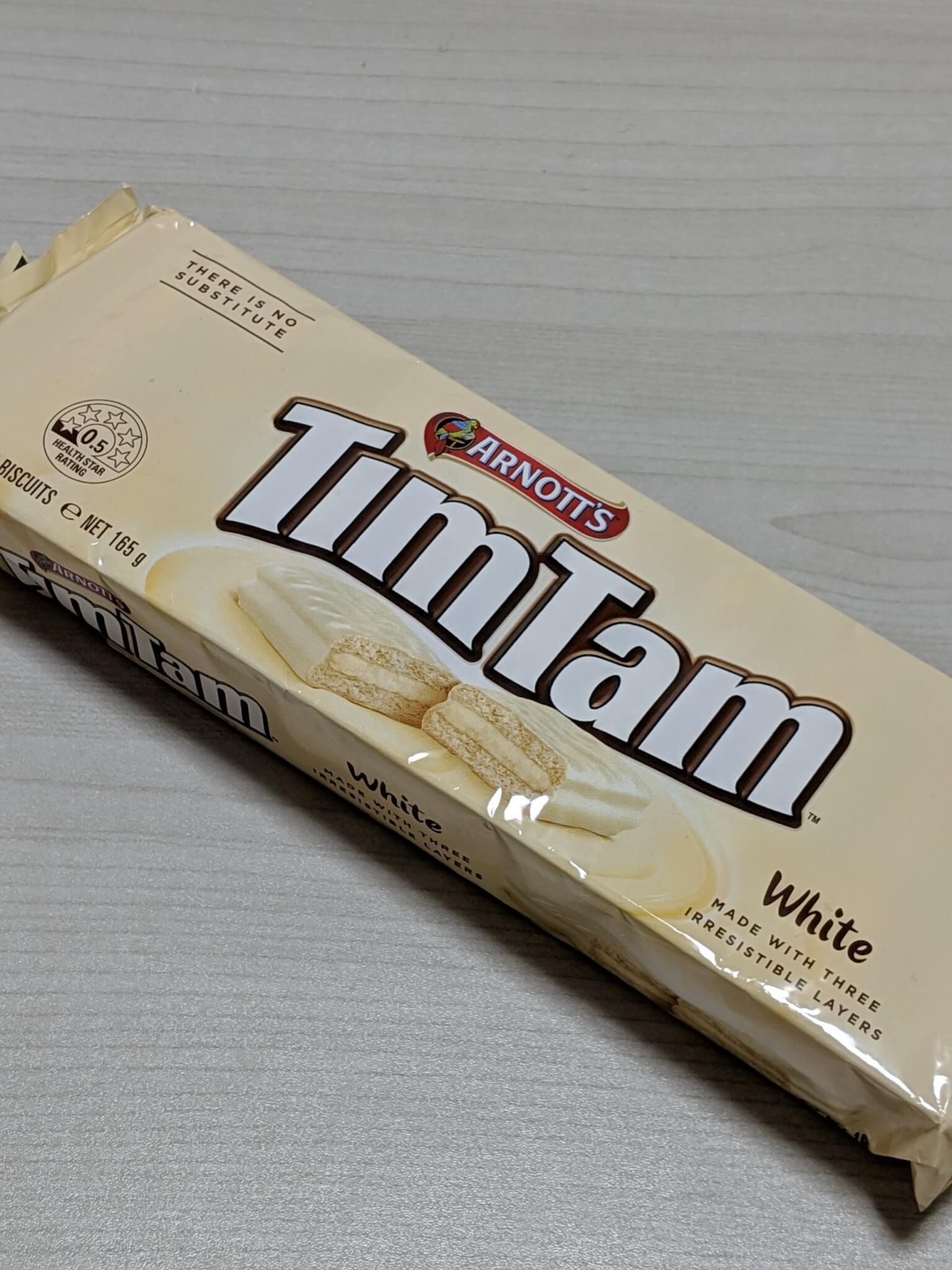 ティムタムのホワイト