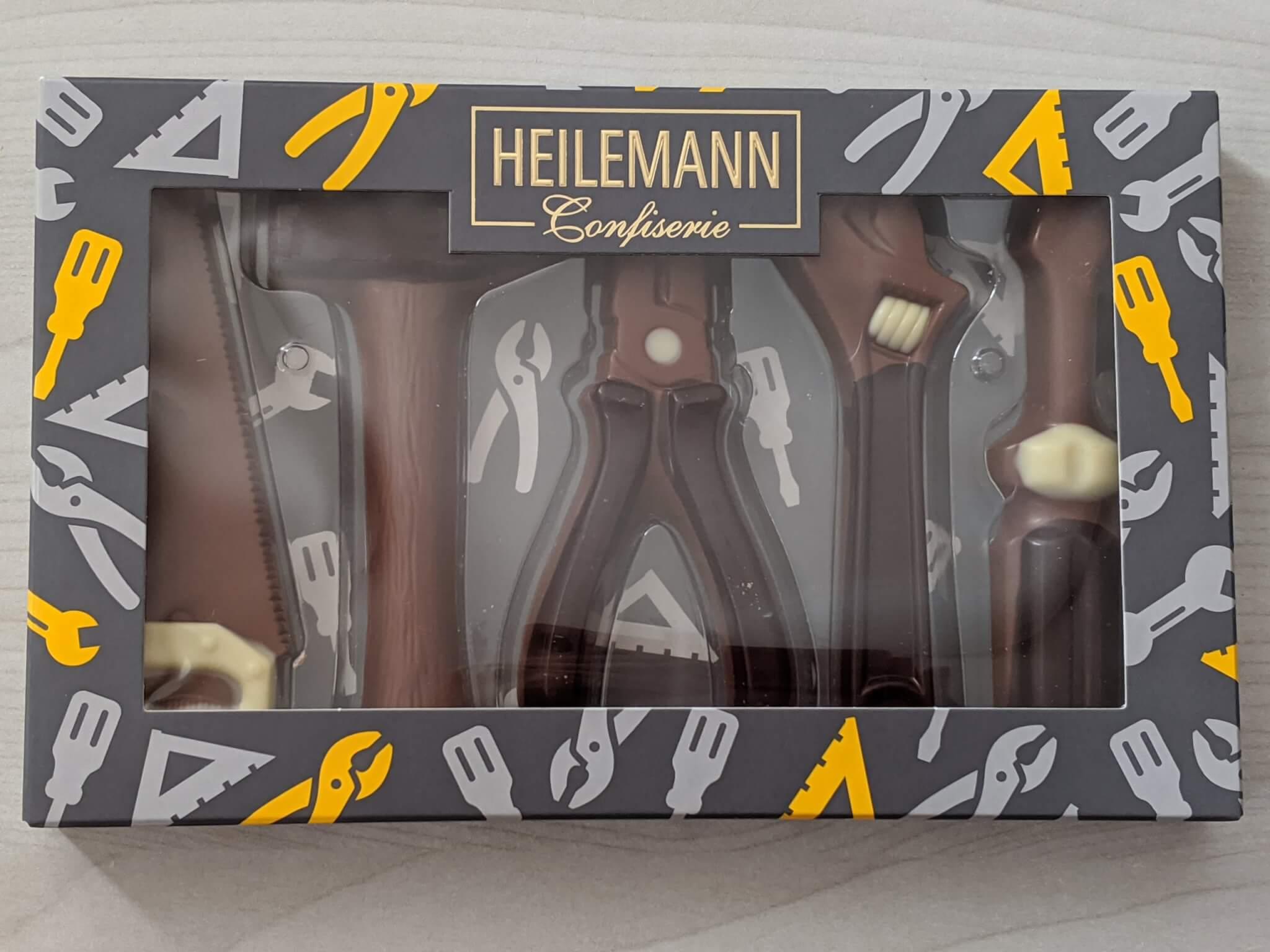 カルディ ハイレマンの工具チョコセット
