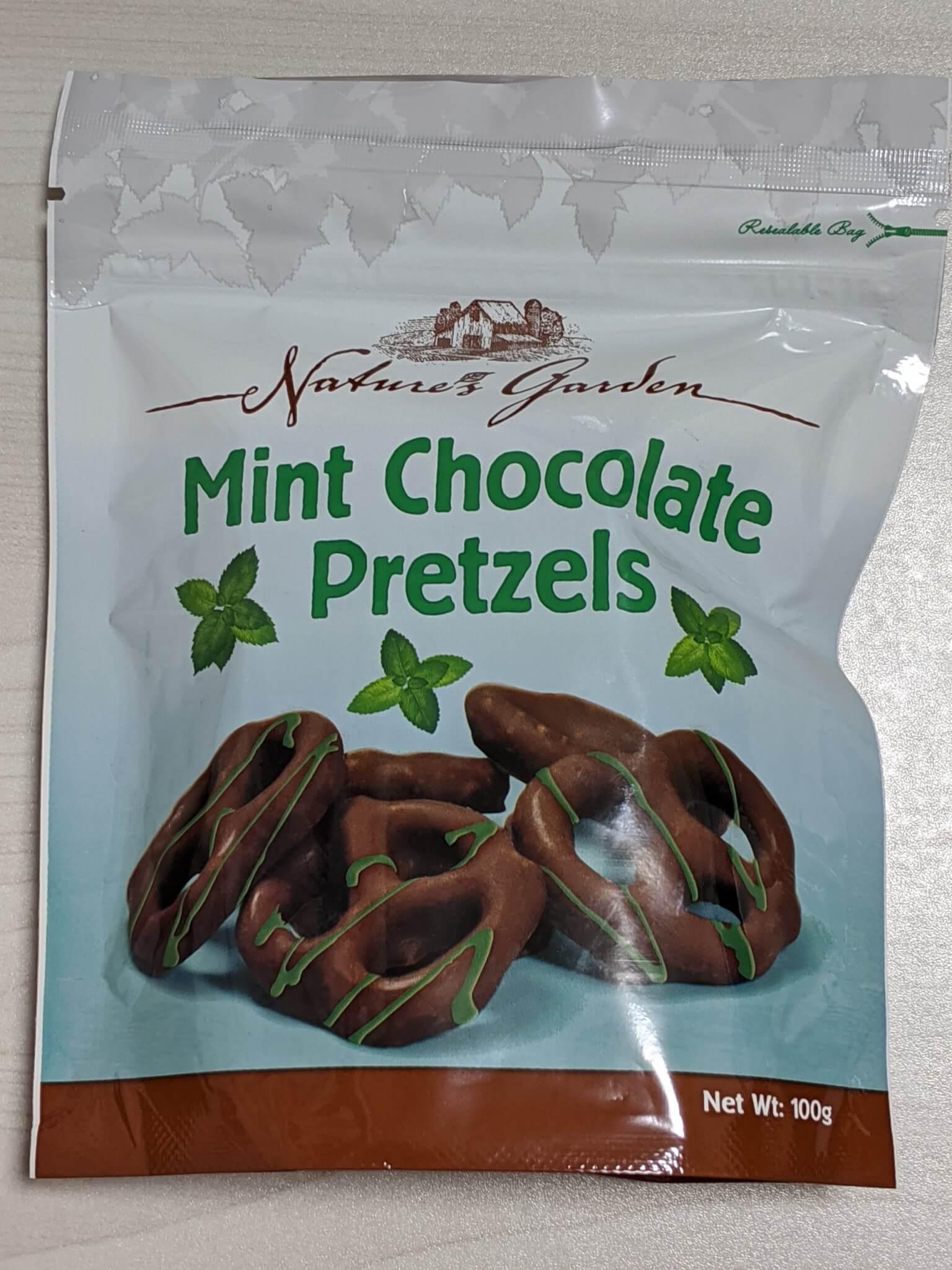 ネイチャーガーデン ミントチョコレートプレッツェル