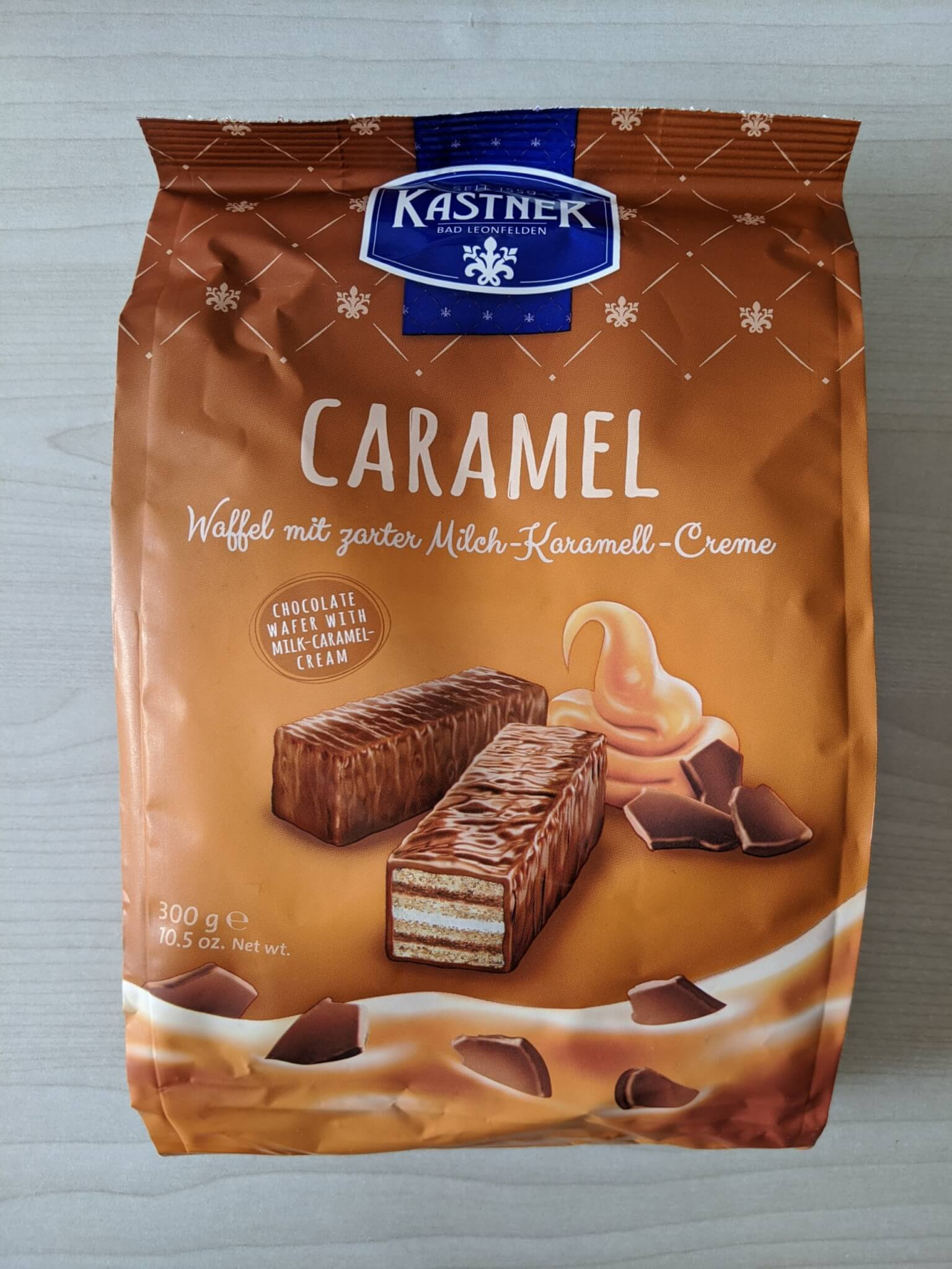 カストナー チョコレートウエハースキャラメル