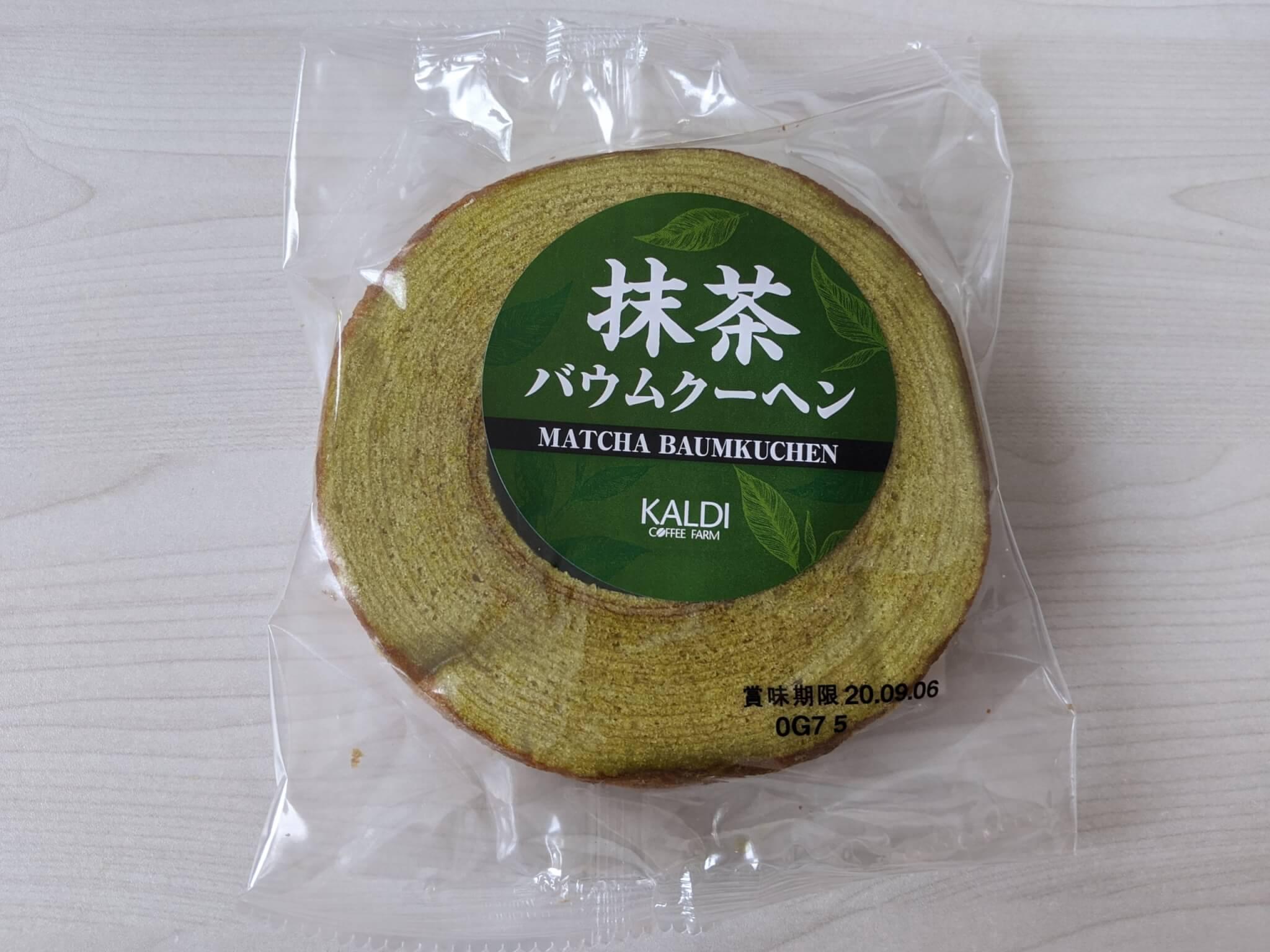 カルディ 抹茶バウムクーヘン