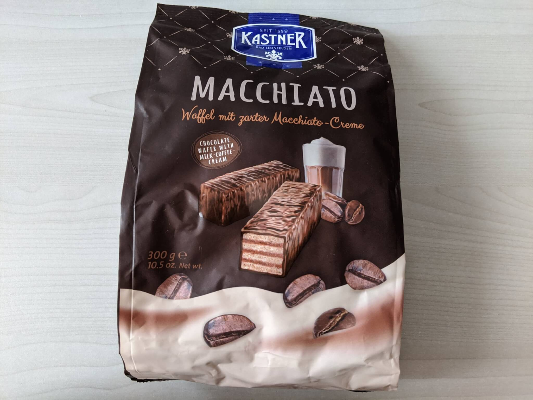 カストナー チョコレートウエハース マッキアート