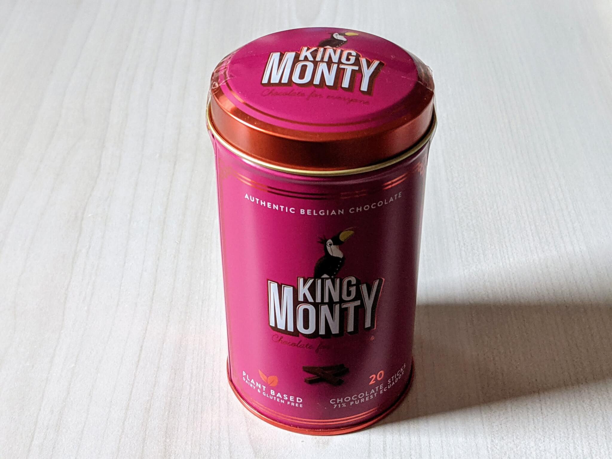 キングモンティ シングルオリジンチョコスティック エクアドル71%