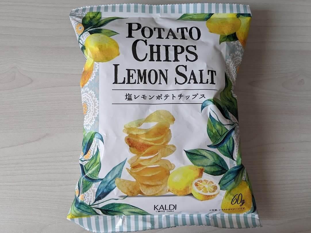 カルディ 塩レモンポテトチップス