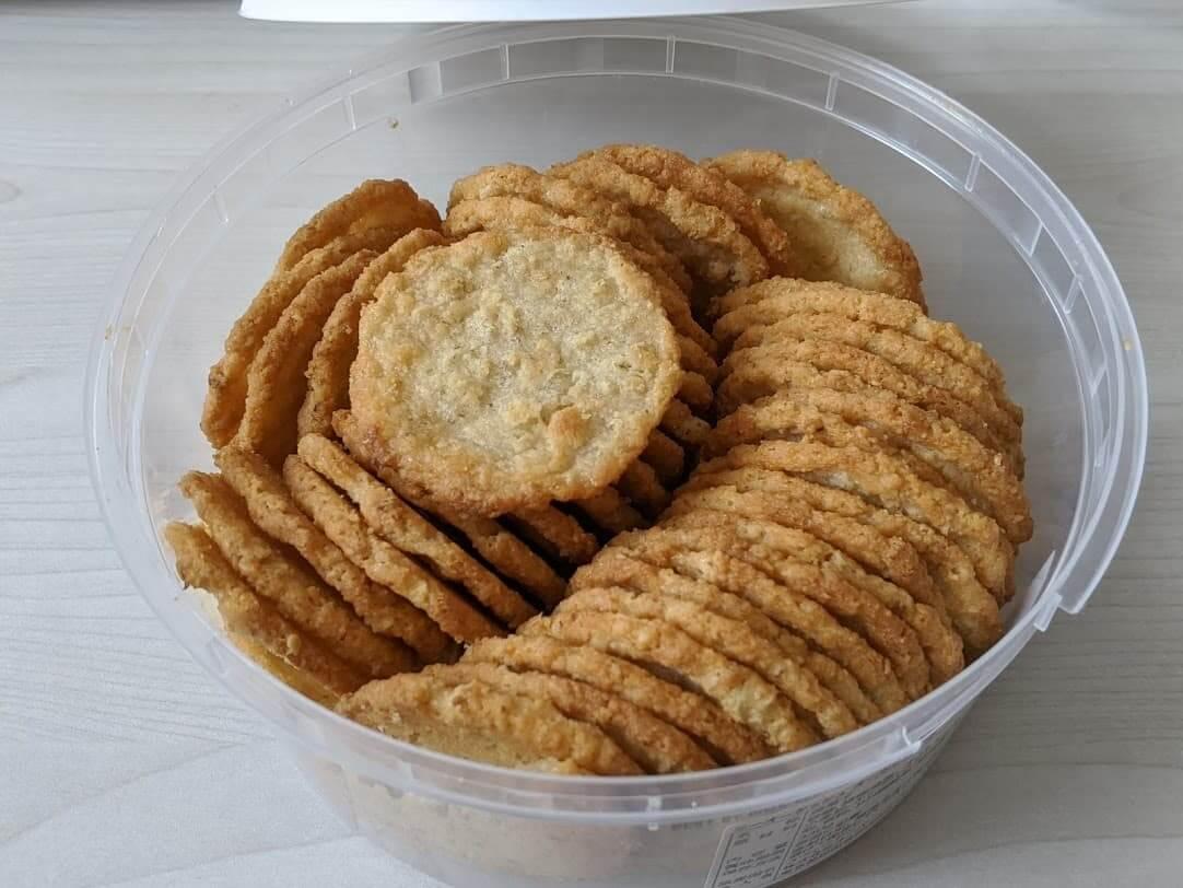 ニーオーケッシュ オーツクリスプクッキー