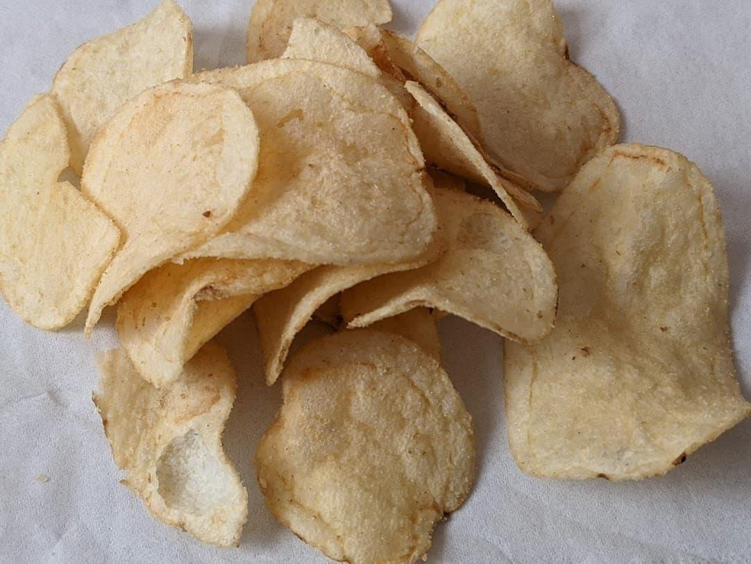 カルディ ガーリックシュリンプ味ポテトチップス