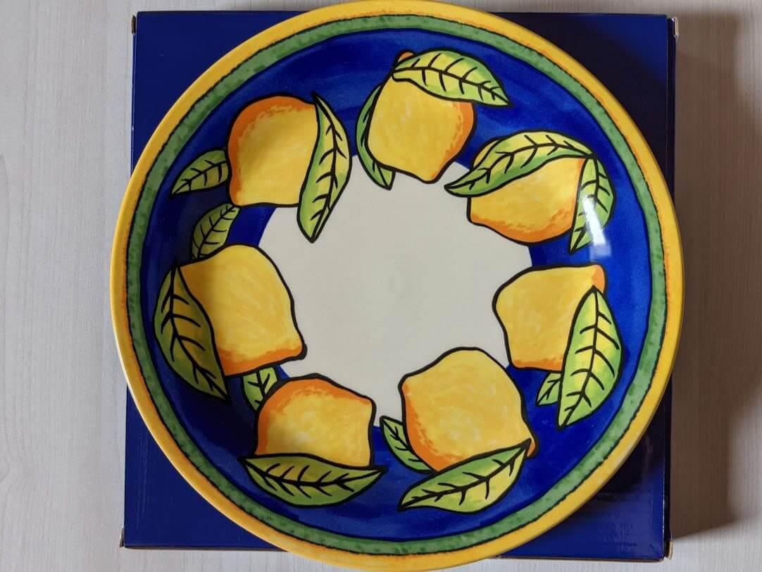 カルディ レモンバッグ レモン柄陶器皿