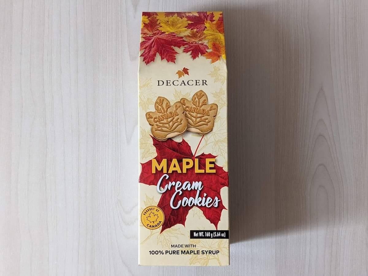 デカセール メープルクリームクッキー