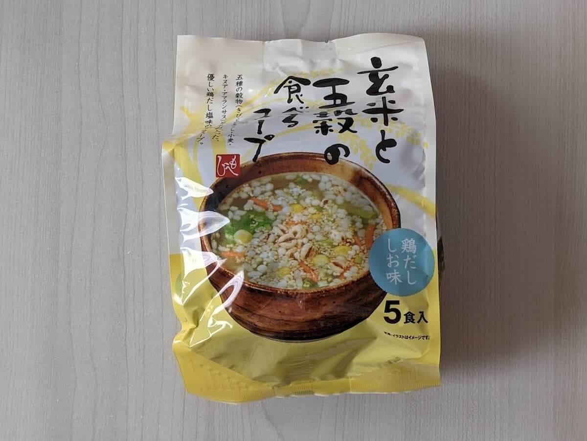 カルディ もへじ 玄米と五穀の食べるスープ 鶏だし塩味
